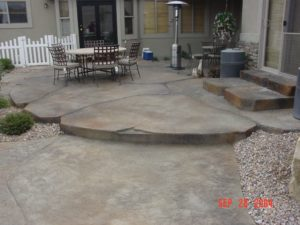 Custom Patio Concrete