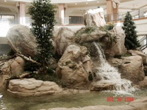 Custom Indoor Waterfall