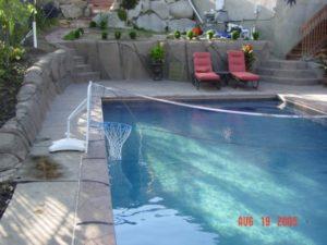 Utah Swimming Pool With Net