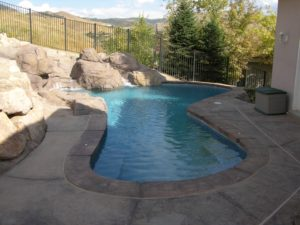 small backyard swimming pool
