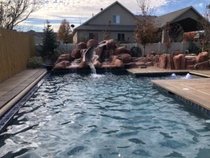 Pool specific landscaping