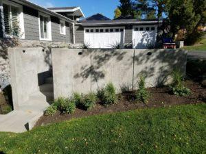 Custom Concrete at Utah Home