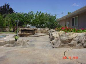 Utah Custom Concrete Deck & Patio