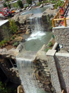 beautiful private waterfall