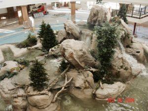 Custom Commercial Waterfall
