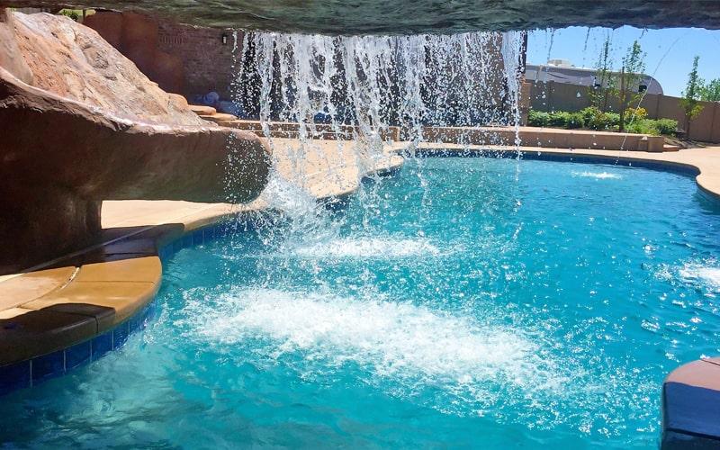 SBI Pool Waterfalls-Pool Builders