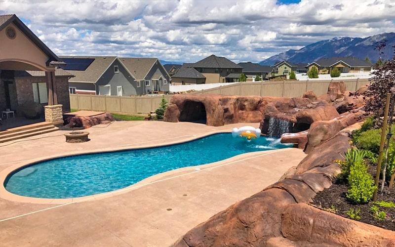Custom Outdoor Pools in Utah-SBI Pools