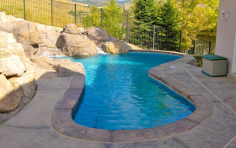 SBI Outdoor Pool Installation