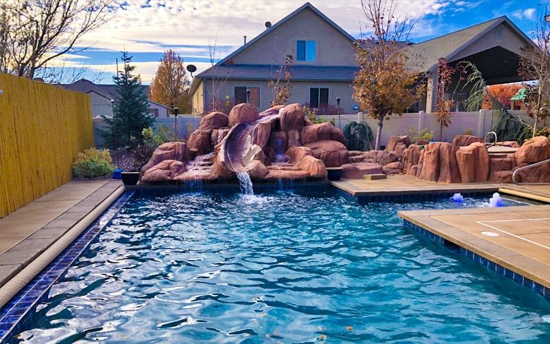 SBI Custom Pool Waterfall Contractors