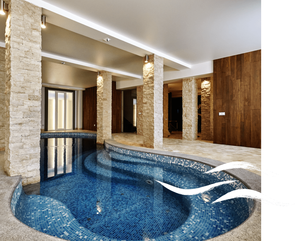 Indoor pool about