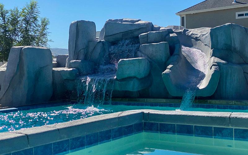 SBI Geometric Pool Design and Construction Utah