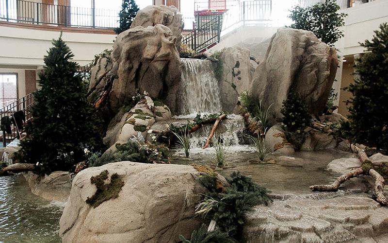 Utah waterfall contractors-SBI Pools