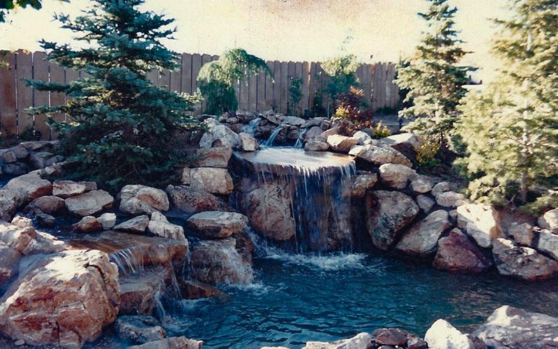 SBI Waterfall Contractors and Pool Builders