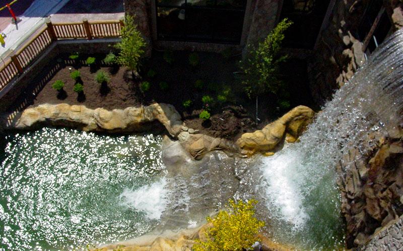 Swimming Pools with Waterfalls Utah