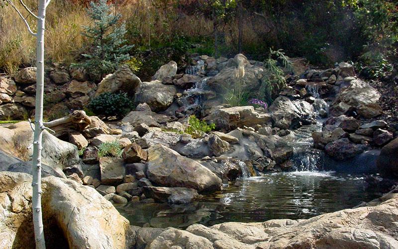 SBI Swimming pools with waterfalls Utah