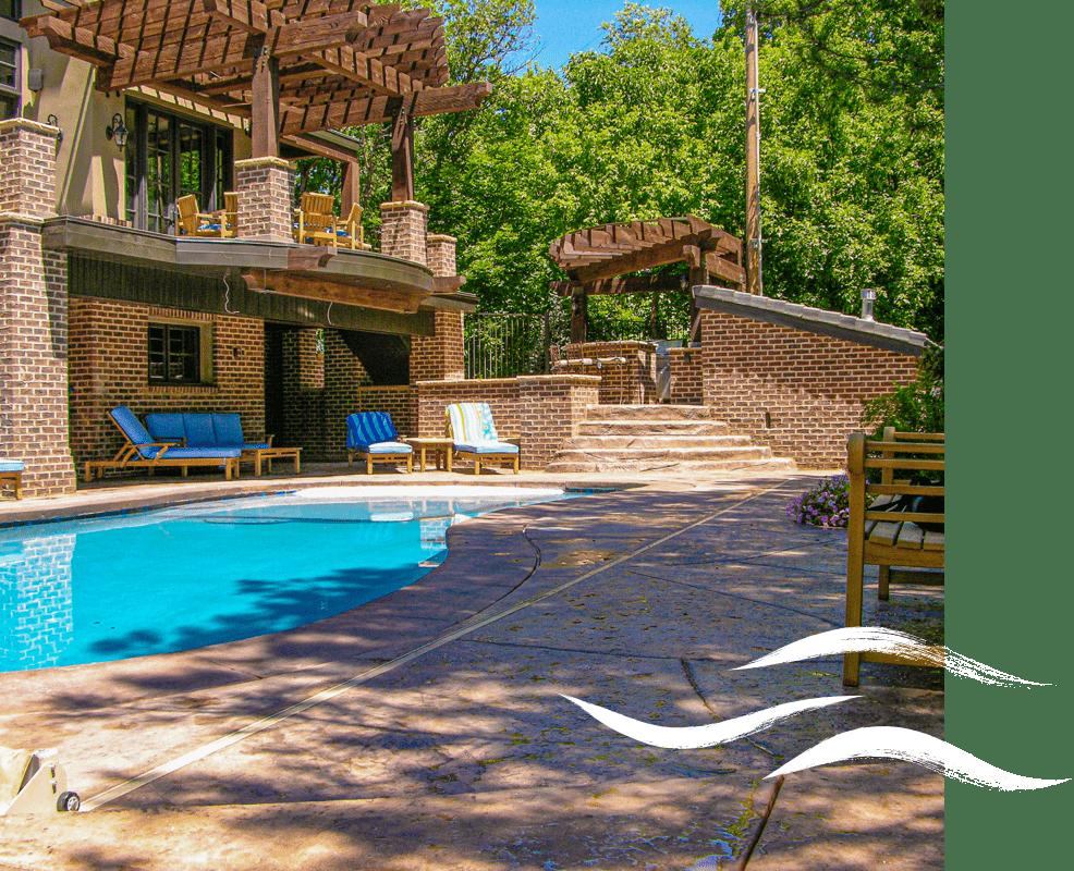 Outdoor Utah swimming pool installation