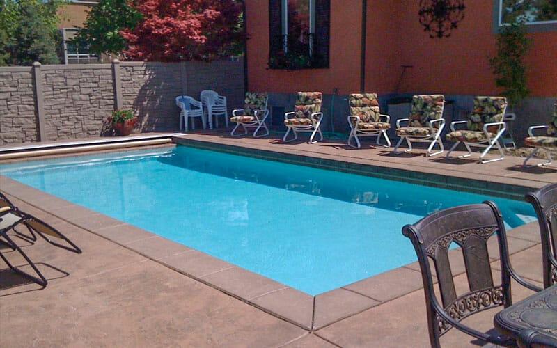 custom utah geometric pools